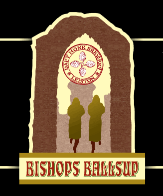 The Bishops Ballsup - a pale session bitter